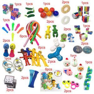 2019 새로운 재미있는 조합 50 조각 액티브 - 솔리드 fidget 키즈 장난감 아마존 뜨거운 다양 한 스타일 세트 도매 세트