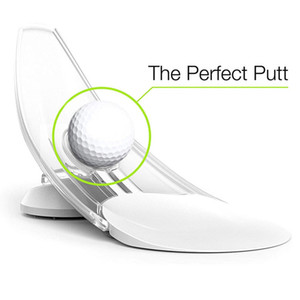 Pressure Putt Golf Trainer Aid Office Home Carpet Practice Putt Aim Easy Gift Practice Pressure Putt Trainer - Perfect Your Golf Putting