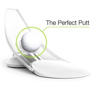 Pression Putt Golf Entraîneur Office de l'aide Accueil Carpet Pratique Putt Aimez Facile-cadeau Cadeau Pressure Puissance Putt Formateur - Parfait votre golf mettant