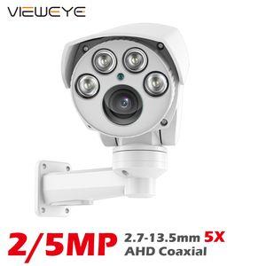 ViewEye 1080P 5MP PTZ AHD Camera 5X ZOOM Mini Speed Bullet Camera Sony IMX335 Max 50M IR Distance Waterproof Outdoor Camera