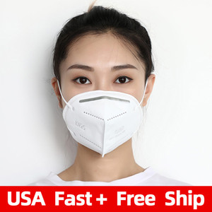 Wholesale KN95 Anti Dust Safety Mouth Cover Disposable Respirator Face Mask
