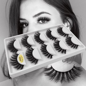 10pairs Eyelashes 3d Mink Lashes Natural Handmade Supper Soft Lashes Long Eyelashes Extension Real Mink Cilio For Eyelash Makeup yxlPMj