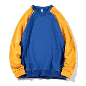 iiDossan 2020 remiendo del algodón de las sudaderas con capucha de los hombres Joggers SS Streetwear Sudaderas mujer de manga larga clásica de Hip Hop Tops caliente de las ventas
