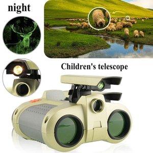 4x30 Kinder Ferngläser Nachtsicht Teleskop Pop-up Light Night Vision Scope Fernglas Neuheit seit über 3 Jahre alt Kind Jungen Spielzeug Geschenke
