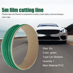 500 cm vinilo envoltura de automóviles diseño sin diseños de la cinta de la línea de la línea de la herramienta de corte de la herramienta de corte de la película de vinilo se ajustan los accesorios de cinta H BBYRHX