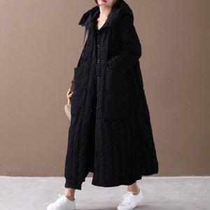DMLFZMY Women's Winter Fashion Jacket Thick Warm Coat Lady Cotton Parka Jacket Long jaqueta Winter jacket with hood Feminina 201023