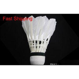 LED Badminton Shuttlecock Free Shipping Brand New Dark Night Glow Birdies Lighting Interior Deportes Flash Colo Qylznk Pingtoy
