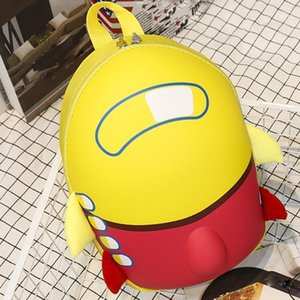 Cute Eggshell School Baby Cartoon Ocardian High Boys Popular Quality Girls Backpack Airplane Toddler Kids Bag Drop <=487g371 Tchtt