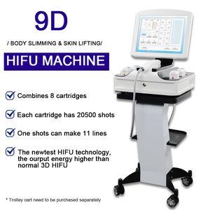 3D Hifu Face Lift Remoção Máquina de Remoção Mais Novo 3D 4D Hifu Ultra Terapia Apertação de Pele Hifu Face Dispositivo de Levantamento