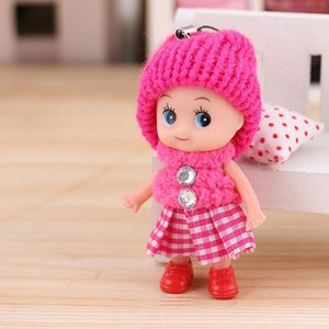 new Kids Toys Dolls Soft Interactive Baby Dolls Toy Mini Doll For Girls Gift free shipping