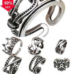 TwKO3 Pendant Factory Price Hip Cross Hop Cross Pendant Necklace Gold Diamond Plated CZ soft cotton ring cross stitch embroidery Topfashionq
