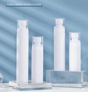 60мл 80мл 100мл 120мл Увлажняющий спрей бутылки белая эмульсия бутылки пластмассы бутылки тонера распылить на складе