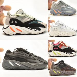 2020 Yeezy 700 V2 Running shoes Kanye West Kinderschuhe West-Wave Runner 700 Jungen Mädchen Laufschuhe Licht Trainer Jungen Turnschuhe Kinder Sportschuhe 26-35