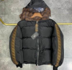 2020 Мужские Зимние Пальто новейшие Полное письмо Письмо Высокое Качество Топ с капюшоном Куртка Высокое Качество Мужская одежда Износ мужской Одежды