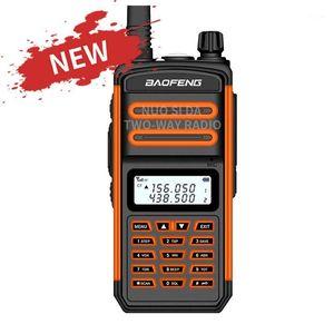 Walkie Talkie 2021 Baofeng Two Way Radio 50KM S5 Plus IP67 Waterproof Long Range Hunting Vhf Uhf Ham CB Portable Plus1