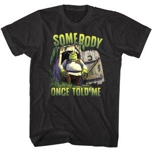 Shrek Alguien dijo una vez a mí camiseta para hombre del deporte del monstruo de grasa ogro de la película de dibujos animados Myers Sudadera con capucha