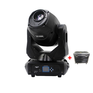 2Pcs With Flightcase 230w Led Spot Moving Head Lyre Dmx Led 230 BSW Motorized Auto Focus Frost Effect Led 230w Moving Head Light