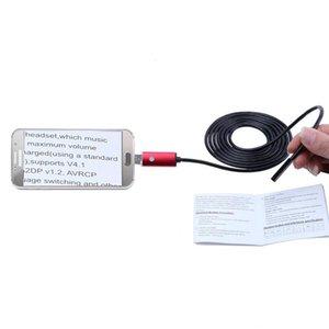 Boroscopio cámara USB Endoscopio 8mm 2M / 5M / 10M 2 En cámara endoscópica Inspección 1 OTG Micro USB con 6 LED para Android / Win7 / 8/10