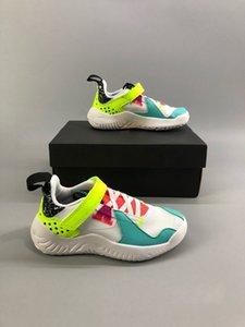 Satış Delta Çocuklar J SP Yelken Vachetta Tan Proto Reakt Modelleri Volt Basketbol Ayakkabı Deltas Siyah Beyaz Varsity Kırmızı Çok Renkli Çocuk Ayakkabı