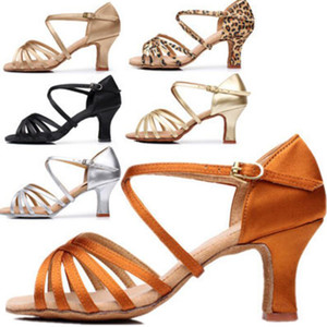 Woman Latin Dance Shoes Ladies Girls Sneaker Dancing Shoes For Women Jazz Ballroom Salsa Dance Shoes 6 Colors About 5cm 7cm A01D 201017