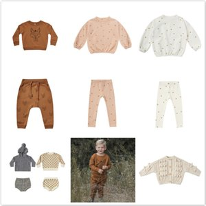 Pre-sale Ins Kids Autumn and Winter Retro Children Sweater Wool Coat Shorts Baby Sweater Set 201109