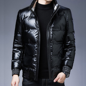 2020 Winter New Men's Hooded Jacket Thick 95% White Duck Down Coat Male Mens Clothing Casual Outwear Drop Shipping