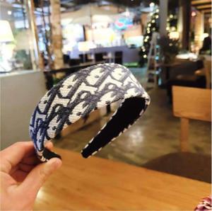 Designer Luxury Handmake Hair Bands For Women Cloth Letter Hair Hoop Girl Elastic Headband Sports Fitness Headband Head Wrap Accessories