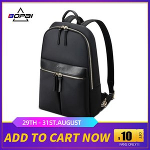 Bopai 14 pollici Slim Laptop Backpack per le donne casual Daypack zaino impermeabile mj_fashion Business Bag Bopai 14 bbyEXj