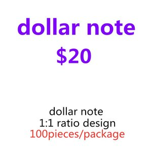 Learning Banknote Money Tool Kids Toys 16 Wholesale Counting Family Game Prop 20 Movie Special Dollar Xieff