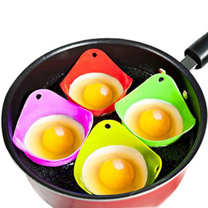 Silicone Egg Poacher Poaching Pods Egg Mold Bowl Rings Cooker Boiler Kitchen Cooking Tools Pancake Maker RRA3678