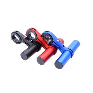 Bicicleta guidão suporte multi função estender moldura lâmpada código de sino trestle trestle mountain bike acessórios suportes 20ak n2