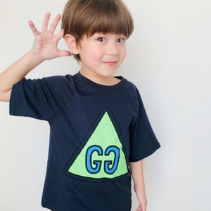 2020 new Summer Children Clothing Boys T shirts Shirt Cotton Short Sleeve T-shirt Kid Boy Casual Cute T-shirt LY130