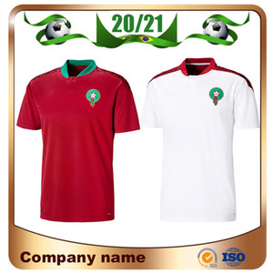2020 Europäische Marokko-Fußball Jerseys 20/21 Maillot de foot ZIYECH BOUTAIB Camiseta de futbol Boussoufa EL AHMADI Fußballhemd