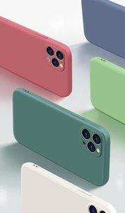 Thin Soft Case iphone 7 8 6 6s Plus SE2 Original Liquid Silicone Cover Candy Coque Capa for ipone X Xs 11 12 Pro max XR