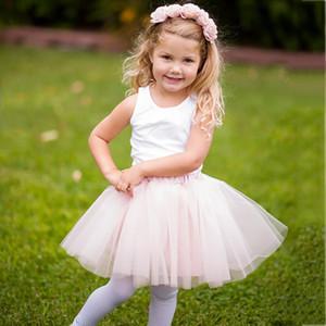 New Fashion Baby Girls Tutu Skirt Pettiskirt Fluffy Children Ballet Skirts For Party Dance Princess Girl Tulle Skirt