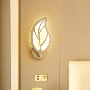 IRALAN LED lampes murales modernes pour la chambre à coucher Cuisine d'intérieur Cuisine d'intérieur Salle à manger Corridor Éclairage mural simple Accueil AC100-265V
