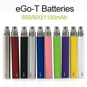 510 thread battery Ego-t Ego t Batteries Fit Atomizer Clearomizer Vaporizer CE4 CE5 650 900 1100mAh Battery In Stock Fast Shipping