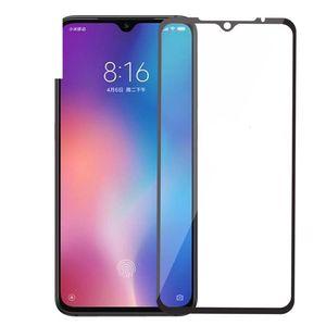 9 H Tam Kapak Temperli Cam Ekran Koruyucu Ipek Için Xiaomi Not 10 10 T Lite Redmi 9 T Redmi 10X 4G 5G 200 adet / grup Hiçbir Perakende PA