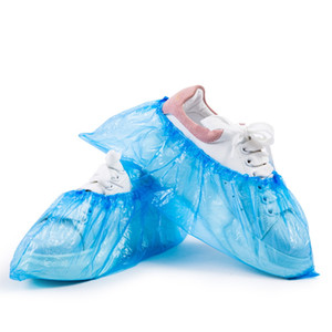 Wholesale House Household Accessory Disposable Anti-Static Dust proof Waterproof Non-Slip PE Thickened Plastic Indoor Shoe Cover