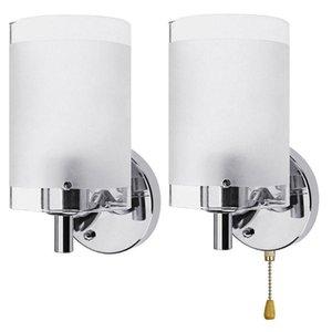 AC85-265V E27 LED Wall Light Modern Glass Decorative Lighting Sconce Fixture Lamp