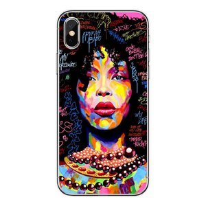 Fashion Black skin goodness Poppin sexy anime girl Phone Case for iPhone funda hull coque shell