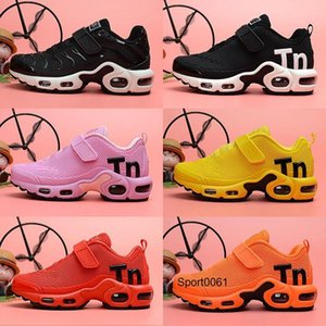 2020 Tn 2 Kid Sneakers Shoes Youth Running Shoes Trainer Air Run 2020 Tn Sports Shoes 28 -35 with logo