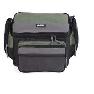 Multifunctional Fishing Bag Outdoor Carp Fishing Tackle Shoulder Crossbody Bags Oxford Reel Lure Gear Storage Case
