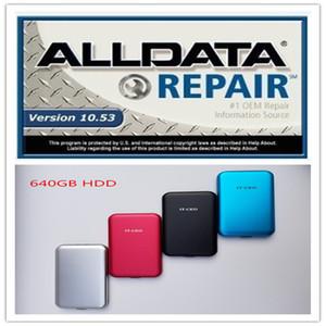 2020 핫 ALLDATA V10.53 자동차 수리 소프트 제품과 자동차와 트럭 USB 3.0 640기가바이트 HDD의 모든 데이터 자동차 소프트웨어