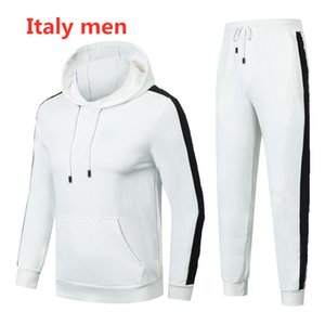 Italian men's autumn winter sports suit Hoodie for men Korean version of the trend versatile hoodie for students casual fashion men's coat