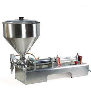 China Bester Preis Halbautomatische Paste, Creme, Ketchup, Lotion, Marmelade Füllmaschine, Cremeabfüllmaschine1