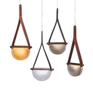 Modern Led Pendant Lights Designer Glass Kitchen Hanging Lamp For Dining Room Bedroom Living Room Bar Decor Lighting Luminaria