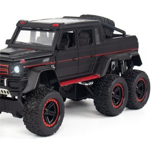High Simulation 1:22 Model G63 6X6 Diecast Toy Vehicle Door Open Pull Back Collection Toys Car Kids Gifts