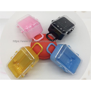50pcs Mini Rolling Travel Suitcase Wedding Party Favor Box Plastic Candy Boxes gift box Package Free Shipping