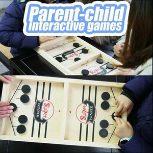 Catapult Chess Parent-child Interactive Toy Sling Puck Table Game Desktop Board Battle Party Ice Hockey Games For Children